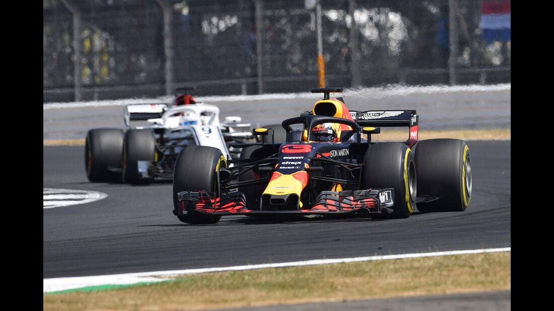 Daniel Ricciardo - Reed Bull - GP England - Silverstone - Formel 1 - Freitag - 6.7.2018