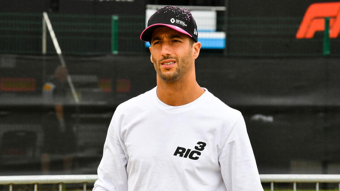 Daniel Ricciardo - Renault - 70 Jahre F1 GP - Silverstone - Formel 1 - 6. August 2020