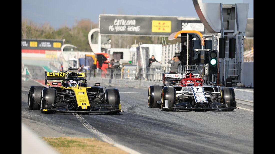 Daniel Ricciardo - Renault - Barcelona - F1-Test - 18. Februar 2019