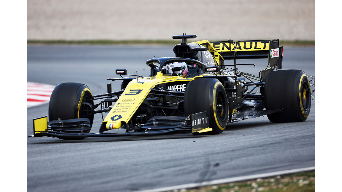Daniel Ricciardo - Renault - Barcelona - F1-Test - 19. Februar 2019