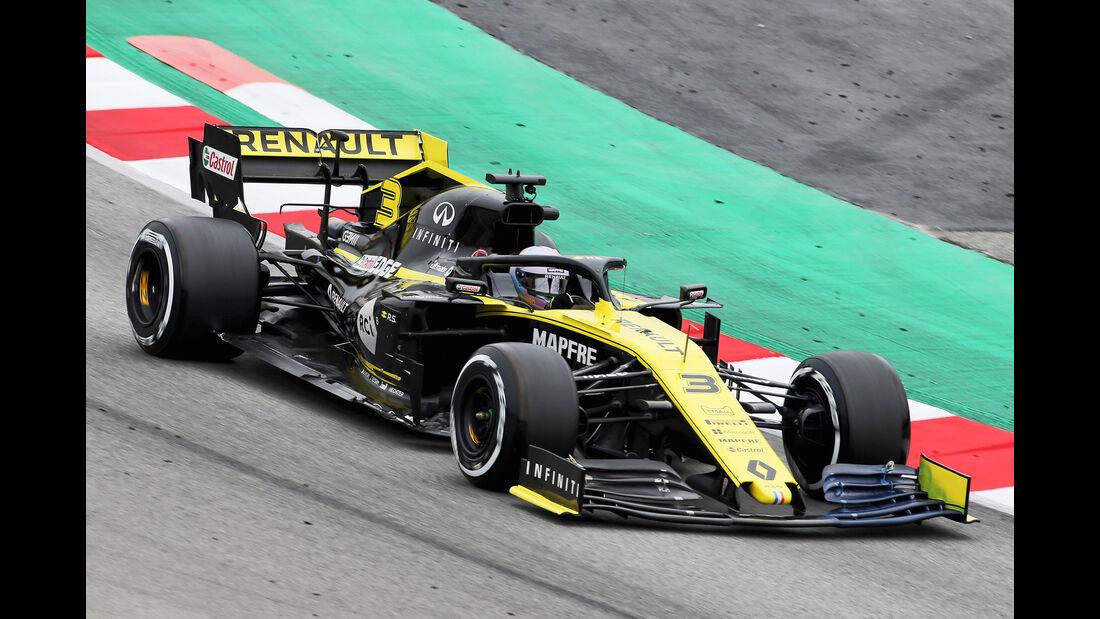 Daniel Ricciardo - Renault - Barcelona - F1-Test - 20. Februar 2019