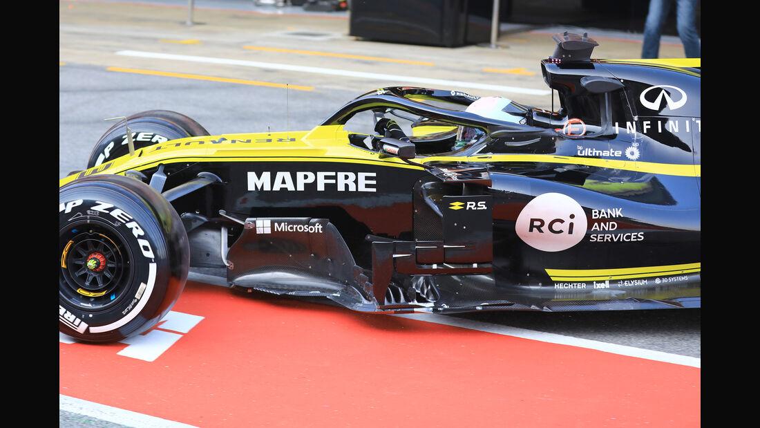 Daniel Ricciardo - Renault - Barcelona - F1-Test - 21. Februar 2019
