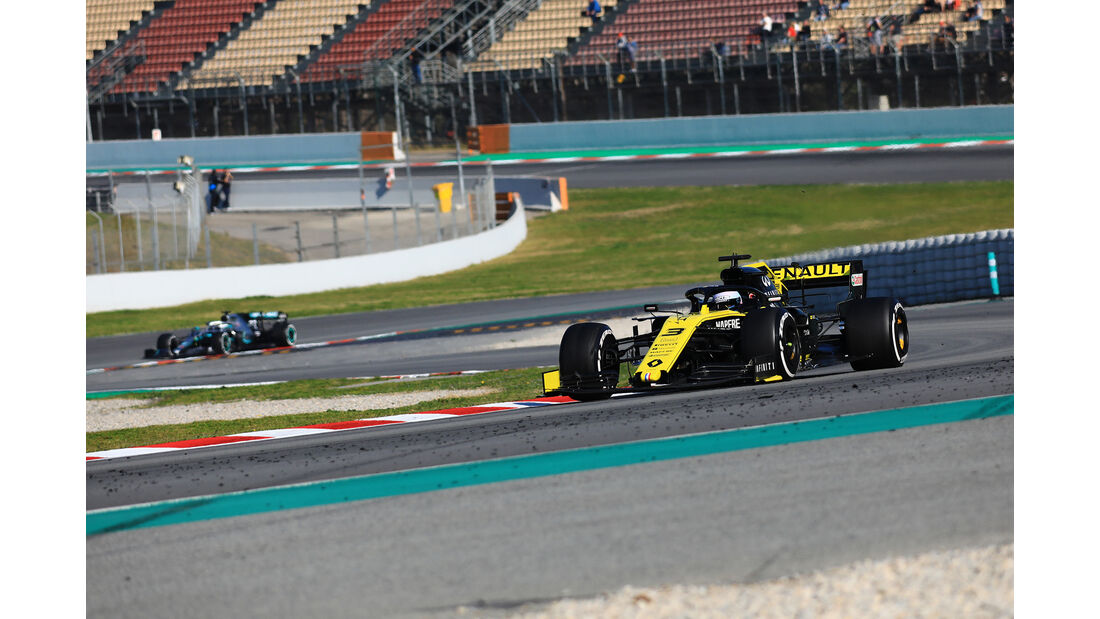 Daniel Ricciardo - Renault - Barcelona - F1-Test - 28. Februar 2019
