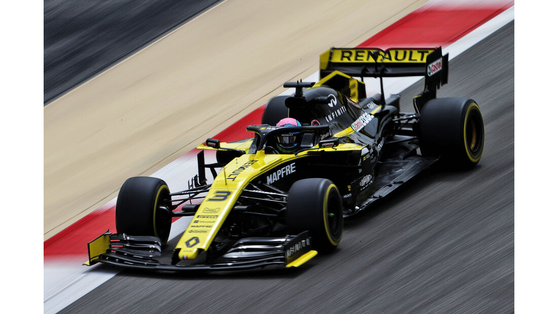 Daniel Ricciardo - Renault - F1-Test - Bahrain - 2. April 2019