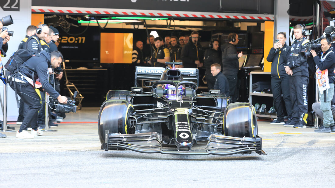 Daniel Ricciardo - Renault - F1-Test - Barcelona - 20. Februar 2020