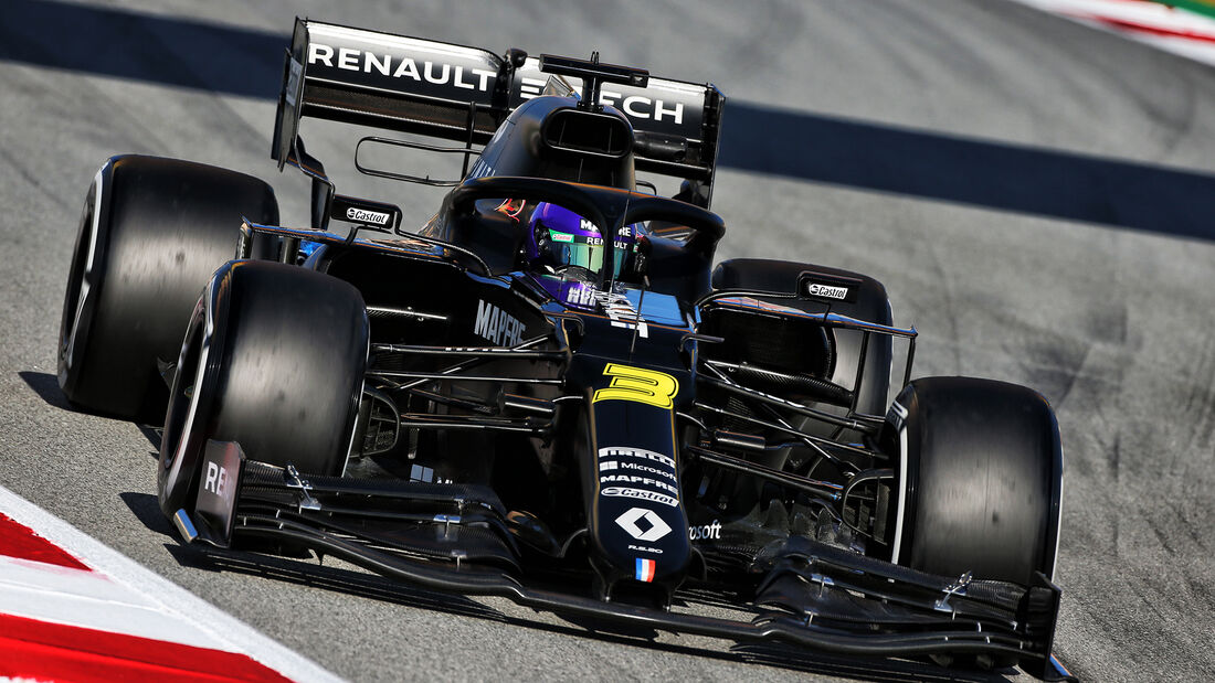 Daniel Ricciardo - Renault - F1-Test - Barcelona - 28. Februar 2020