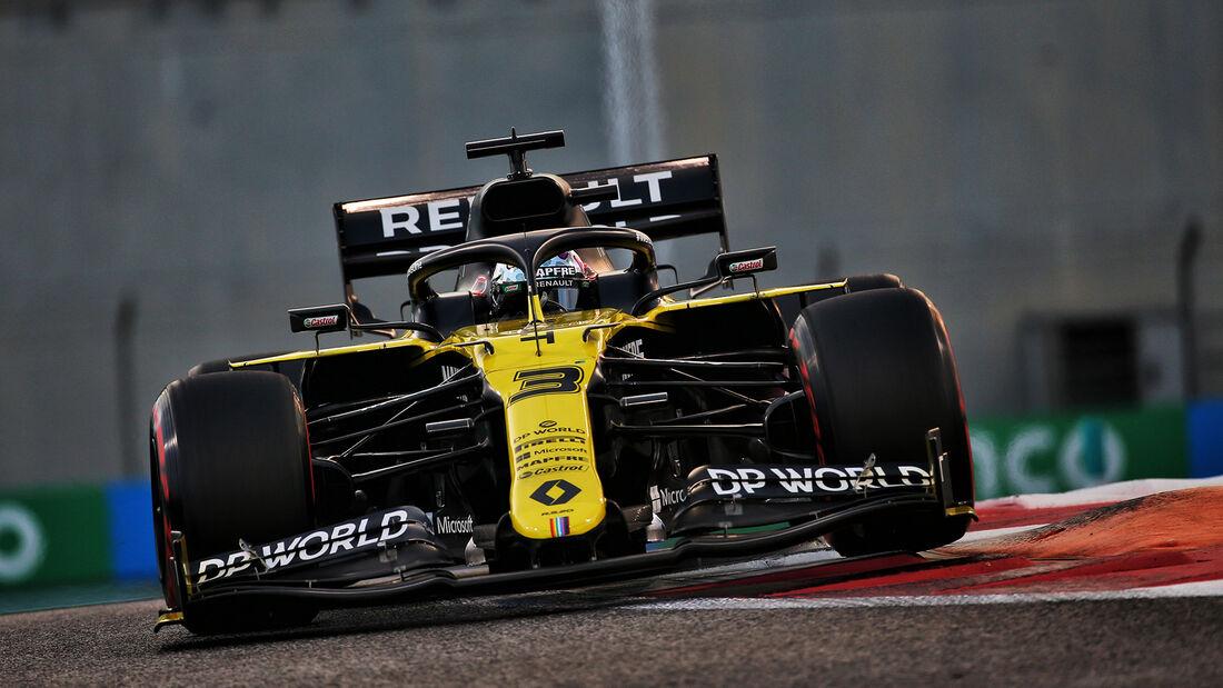 Daniel Ricciardo - Renault - Formel 1 - GP Abu Dhabi - Samstag - 12.12.2020