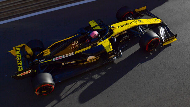Daniel Ricciardo - Renault - Formel 1 - GP Aserbaidschan - Baku - 26. April 2019