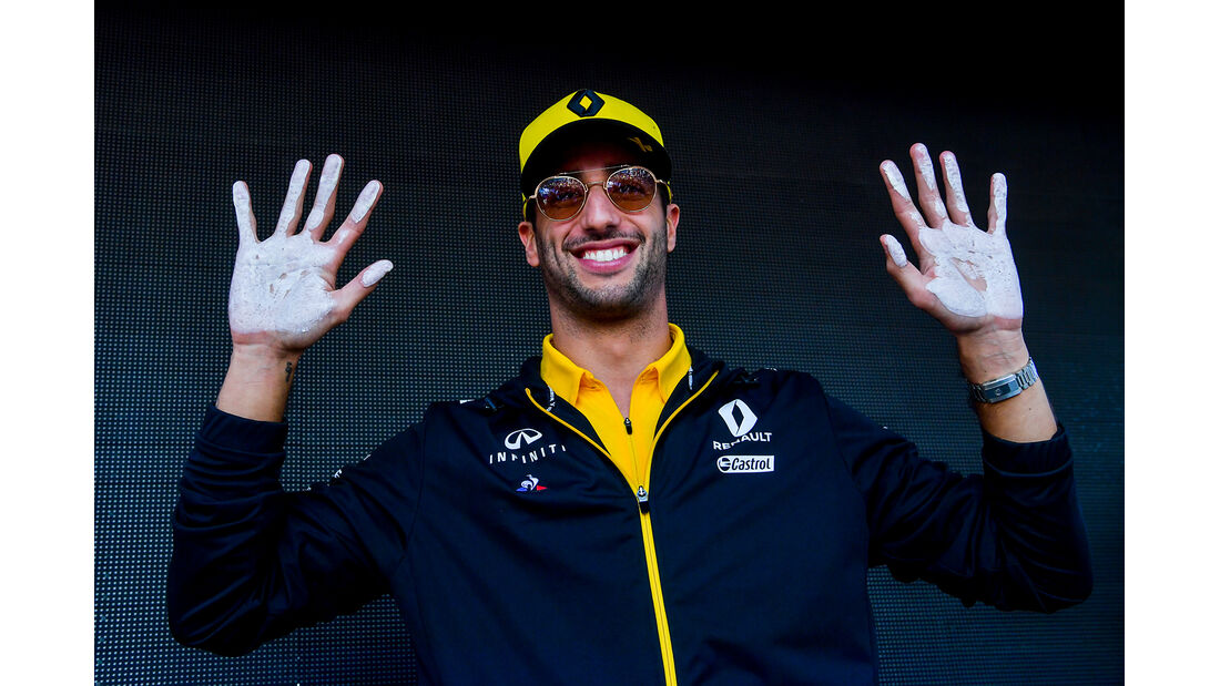 Daniel Ricciardo - Renault - Formel 1 - GP Australien - Melbourne - 14. März 2019