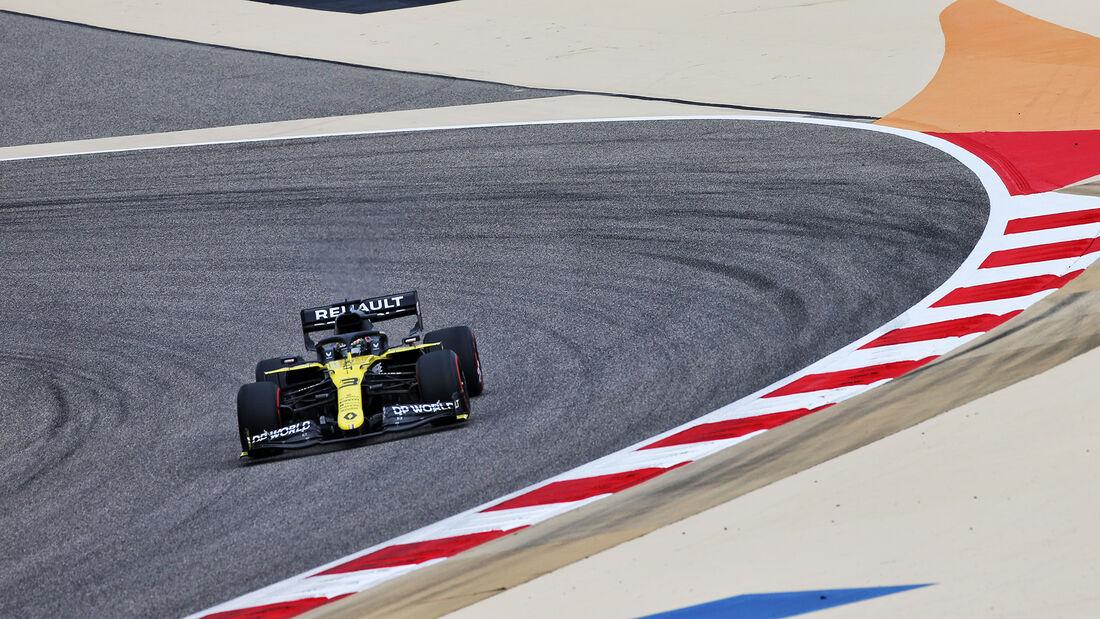 Daniel Ricciardo - Renault - Formel 1 - GP Bahrain- Sakhir - Freitag - 27.11.2020