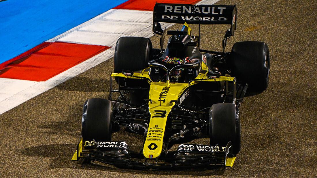 Daniel Ricciardo - Renault - Formel 1 - GP Bahrain - Sakhir - Freitag - 27.11.2020