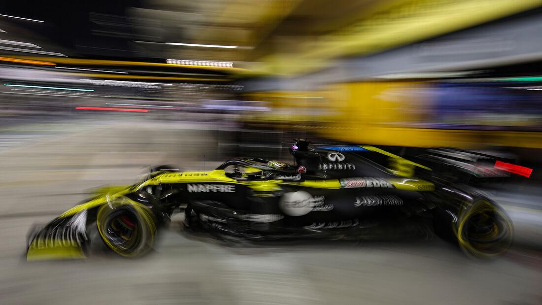 Daniel Ricciardo - Renault - Formel 1 - GP Bahrain - Sakhir - Qualifikation - Samstag - 28.11.2020