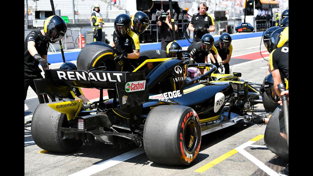 Daniel Ricciardo - Renault - Formel 1 - GP Deutschland - Hockenheim 2019
