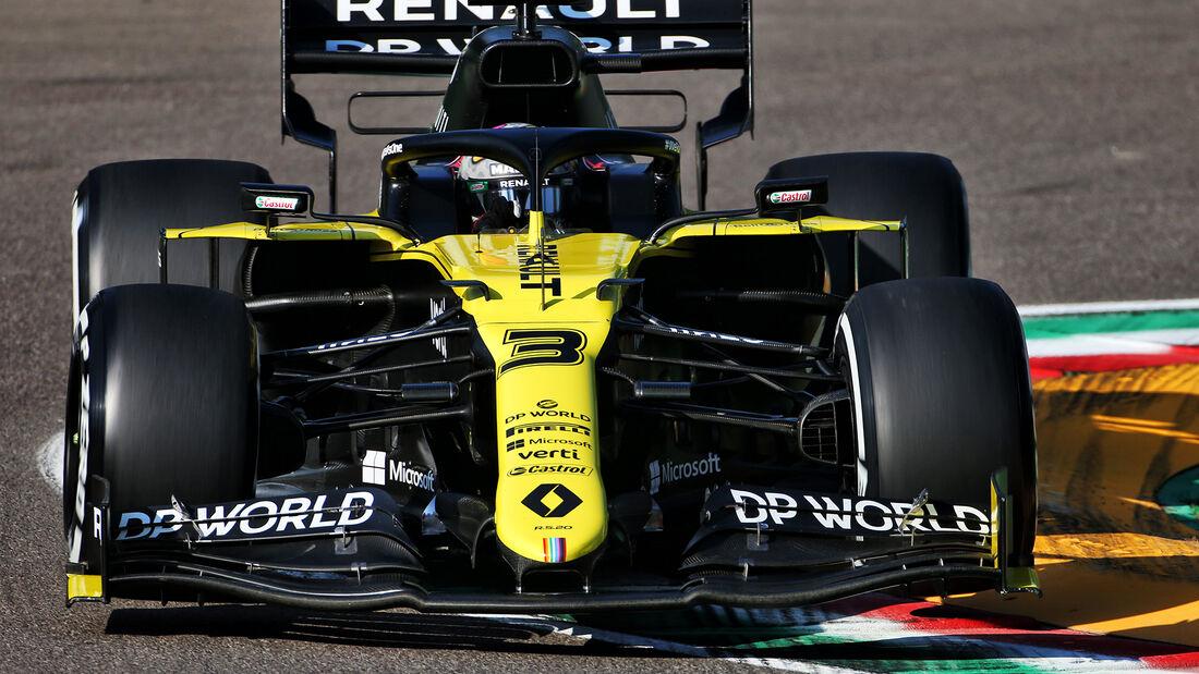 Daniel Ricciardo - Renault - Formel 1 - GP Emilia-Romagna - Imola - Samstag - 31.10.2020
