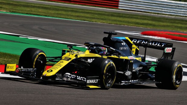 Daniel Ricciardo - Renault - Formel 1 - GP England - Silverstone - 31. Juli 2020