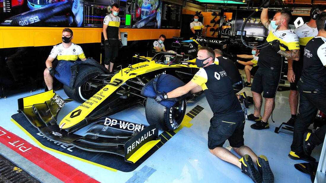 Daniel Ricciardo - Renault - Formel 1 - GP Italien - Monza - 4. September 2020