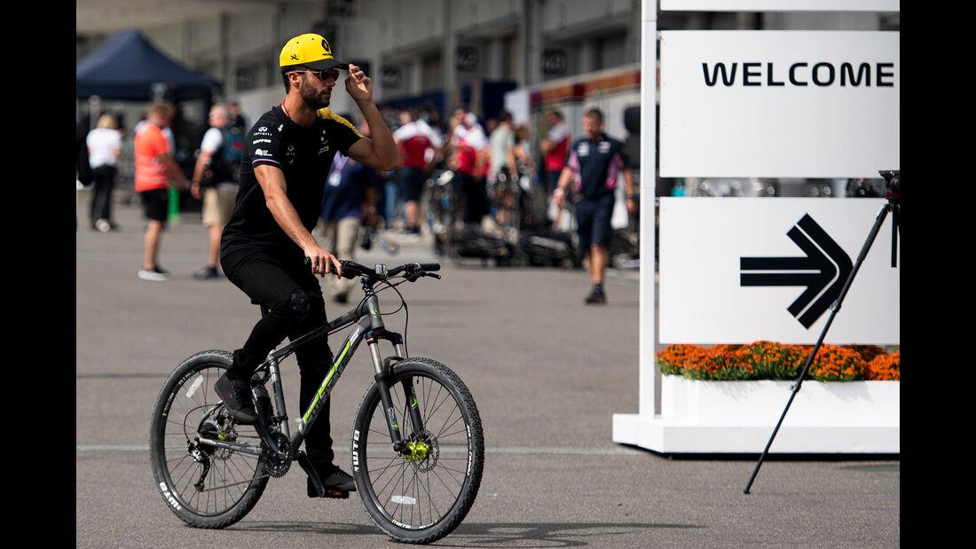 Daniel Ricciardo - Renault - Formel 1 - GP Japan - Suzuka - 10. Oktober 2019
