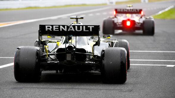 Daniel Ricciardo - Renault - Formel 1 - GP Japan - Suzuka - 11. Oktober 2019