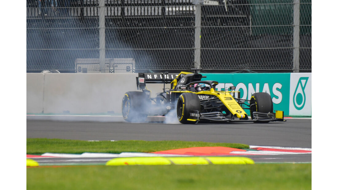 Daniel Ricciardo - Renault - Formel 1 - GP Mexiko - 25. Oktober 2019