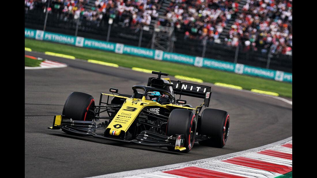 Daniel Ricciardo - Renault - Formel 1 - GP Mexiko - 26. Oktober 2019