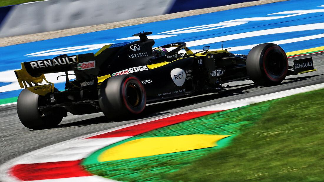 Daniel Ricciardo - Renault - Formel 1 - GP Österreich - 4. Juli 2020