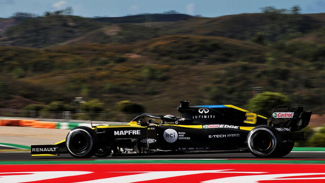 Daniel Ricciardo - Renault - Formel 1 - GP Portugal - Portimao - 23. Oktober 2020