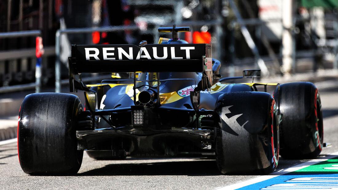 Daniel Ricciardo - Renault - Formel 1 - GP Portugal - Portimao - 24. Oktober 2020