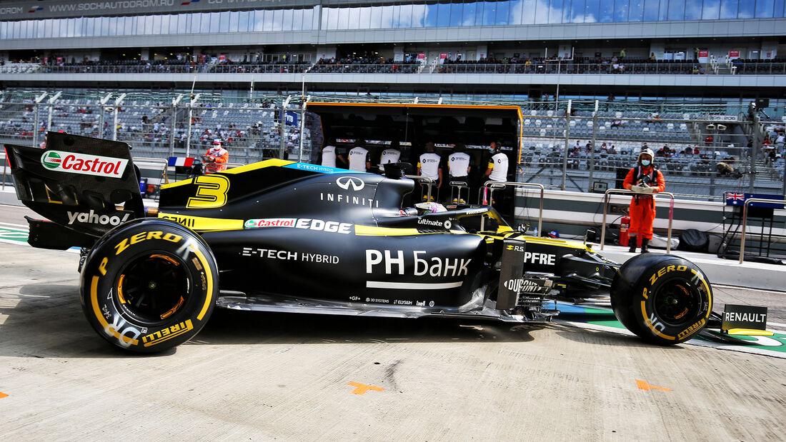 Daniel Ricciardo - Renault - Formel 1 - GP Russland - Sotschi - 26. September 2020