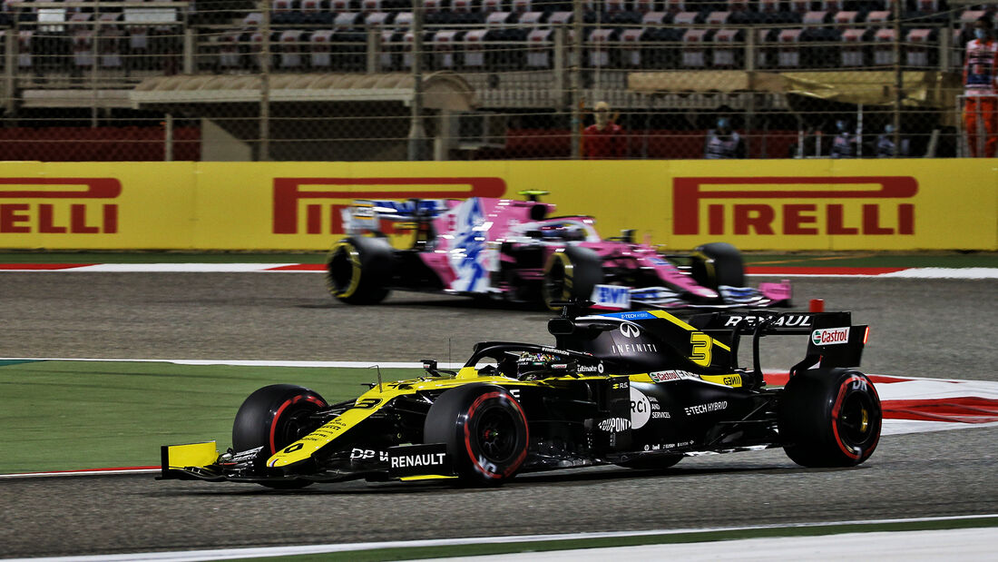 Daniel Ricciardo - Renault - Formel 1 - GP Sakhir - Bahrain - Freitag - 4.12.2020