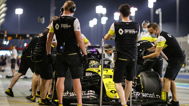 Daniel Ricciardo - Renault - Formel 1 - GP Sakhir - Bahrain - Samstag - 5.12.2020