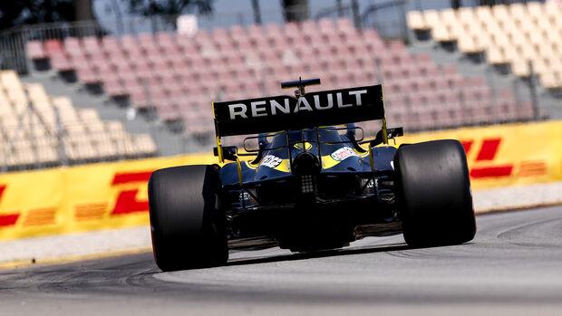 Daniel Ricciardo - Renault - Formel 1 - GP Spanien - Barcelona - Qualifying - Samstag - 15. August 2020