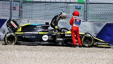 Daniel Ricciardo - Renault - Formel 1 - GP Steiermark - Österreich - Spielberg - 10. Juli 2020