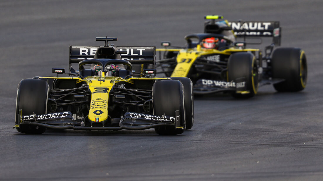 Daniel Ricciardo - Renault - Formel 1 - GP Türkei - Istanbul - Freitag - 13.11.2020