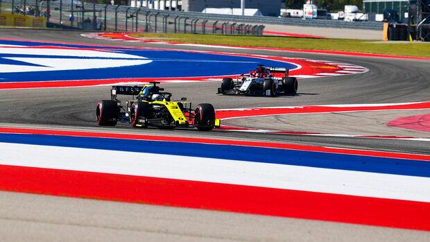 Daniel Ricciardo - Renault - Formel 1 - GP USA - Austin - 1. November 2019