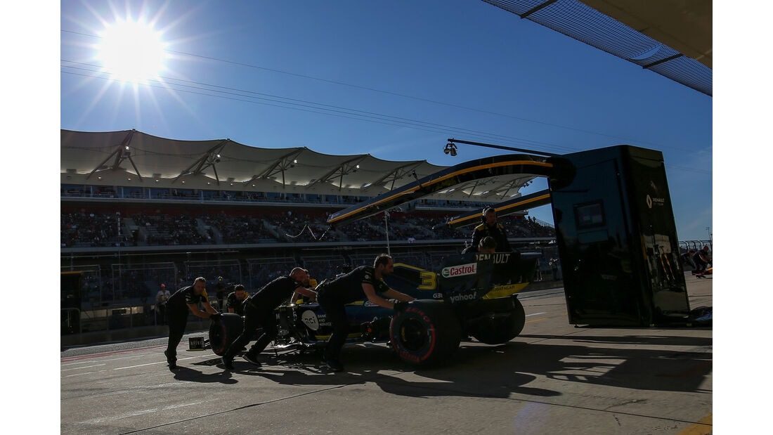 Daniel Ricciardo - Renault  - Formel 1 - GP USA - Austin - 2. November 2019