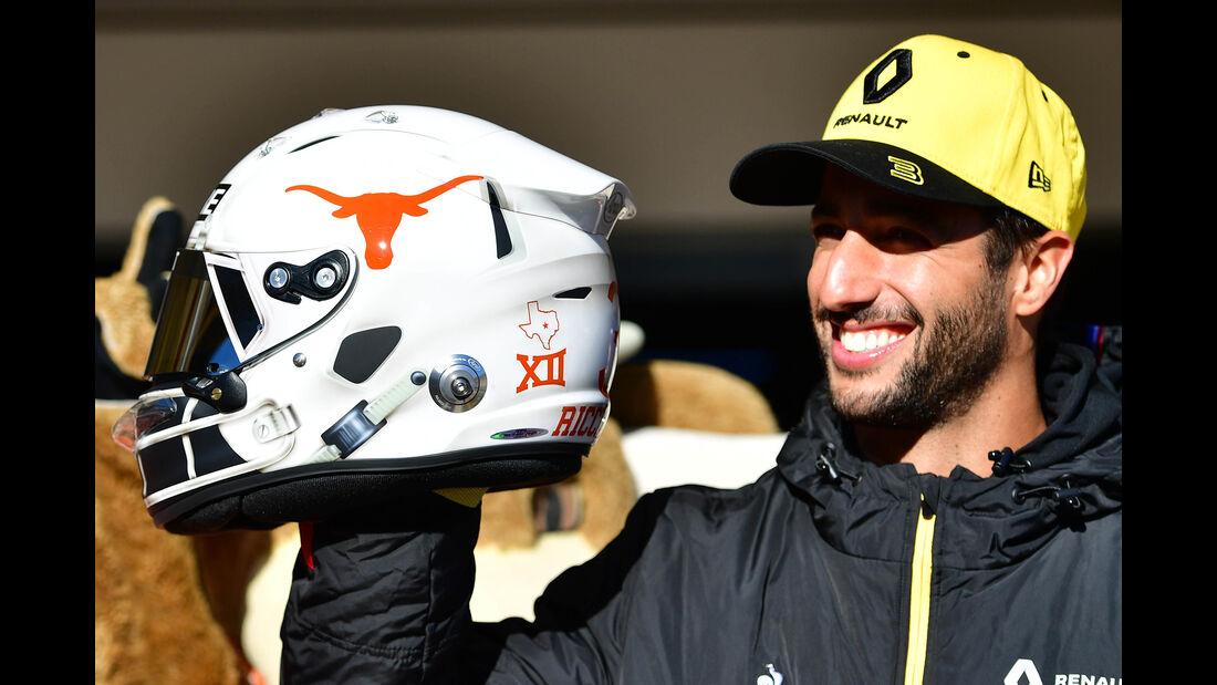 Daniel Ricciardo - Renault - Formel 1 - GP USA - Austin - 31. Oktober 2019