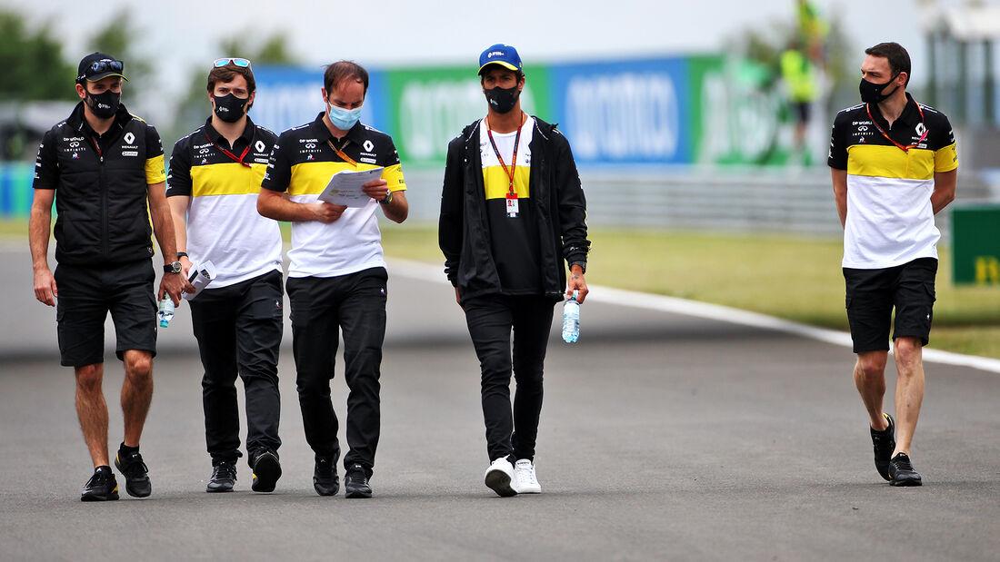 Daniel Ricciardo - Renault - Formel 1 - GP Ungarn - Budapest - 16. Juli 2020