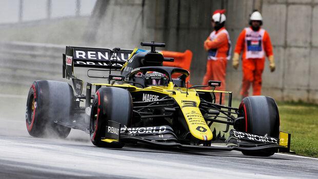Daniel Ricciardo - Renault - Formel 1 - GP Ungarn - Budapest - 18. Juli 2020