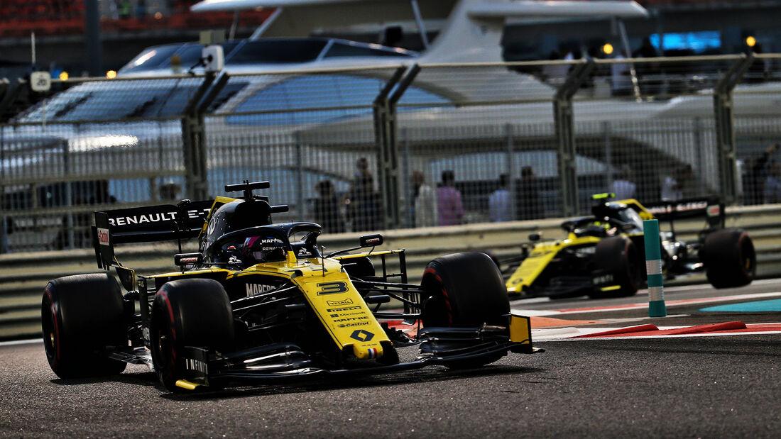 Daniel Ricciardo - Renault - GP Abu Dhabi 2019 - Rennen