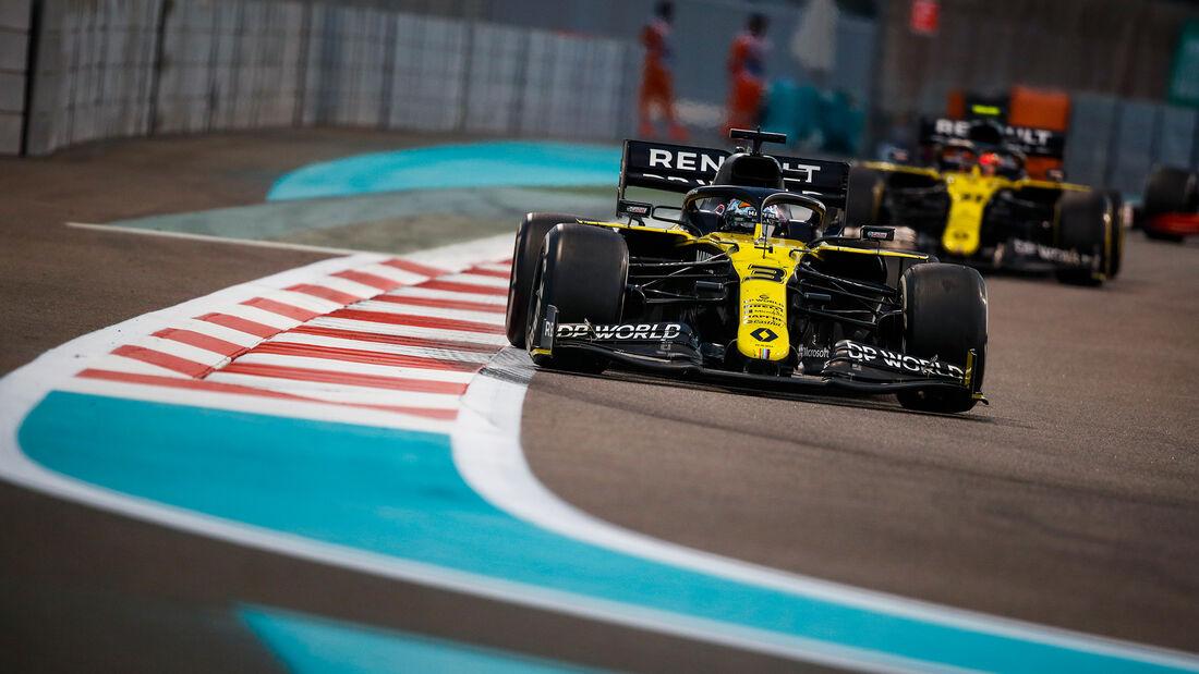 Daniel Ricciardo - Renault - GP Abu Dhabi 2020
