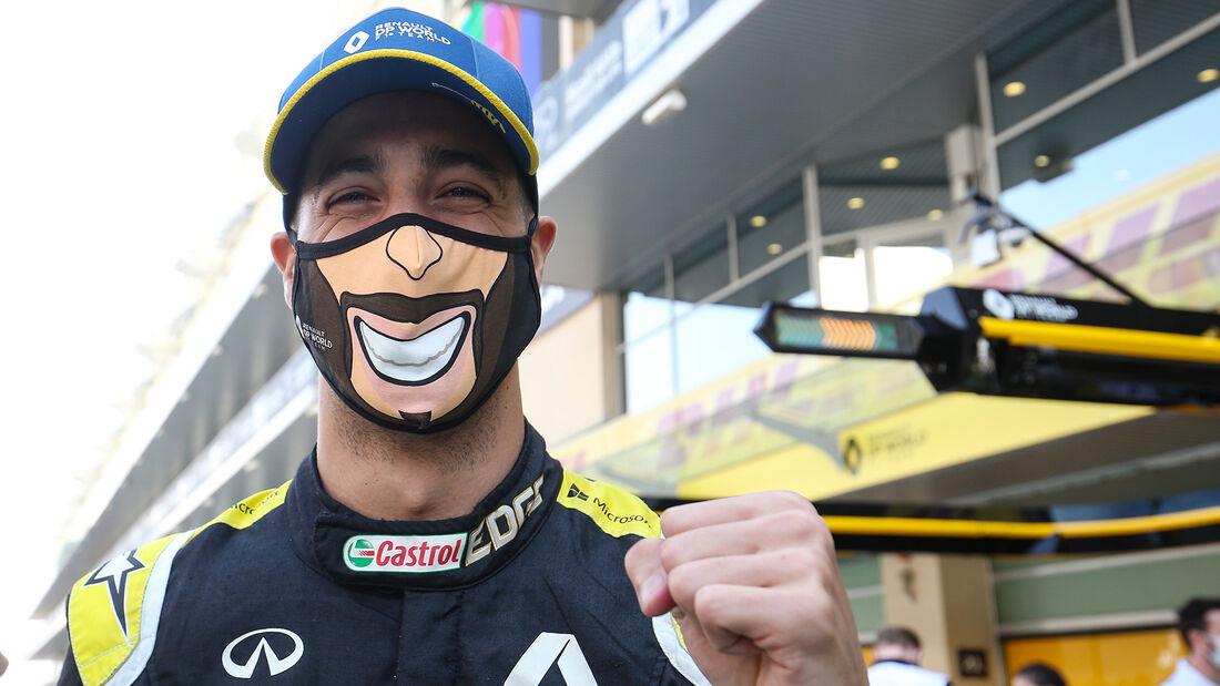 Daniel Ricciardo - Renault - GP Abu Dhabi 2020 - Rennen