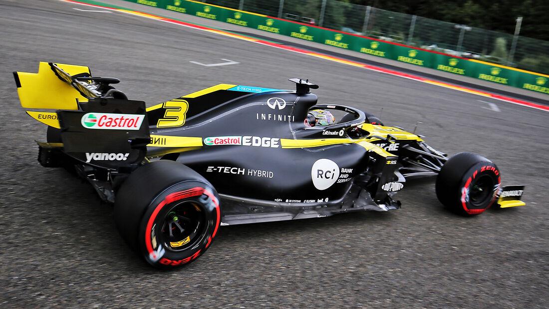 Daniel Ricciardo - Renault - GP Belgien - Spa-Francorchamps - 29. August 2020