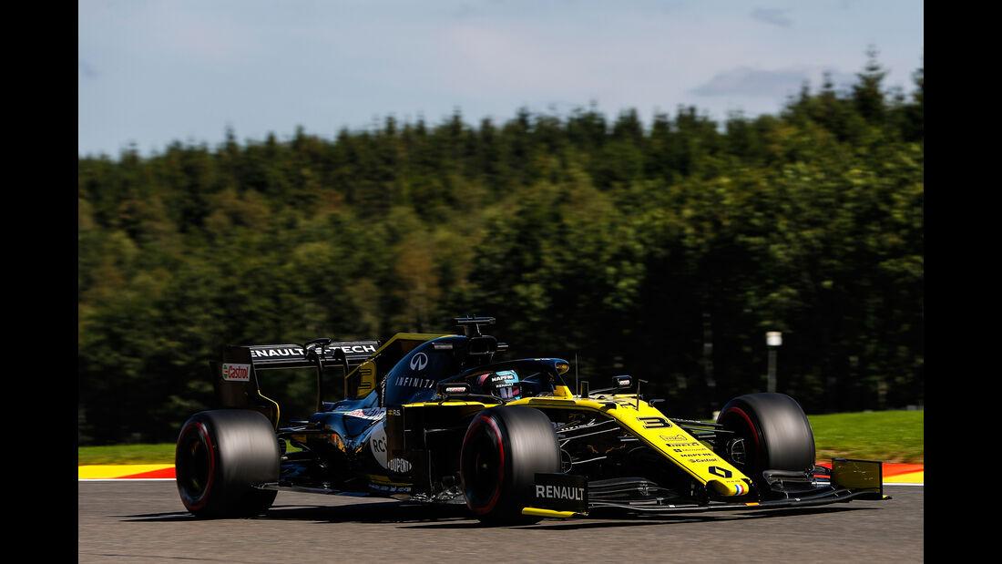 Daniel Ricciardo - Renault - GP Belgien - Spa-Francorchamps - Formel 1 - Freitag - 30.08.2019