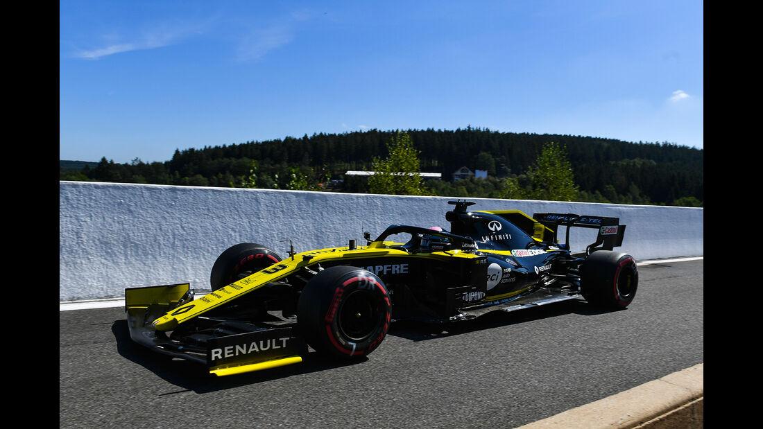 Daniel Ricciardo - Renault - GP Belgien - Spa-Francorchamps - Formel 1 - Freitag - 30.8.2019