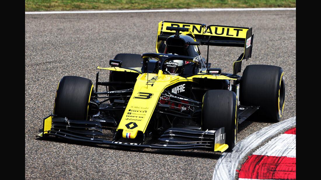 Daniel Ricciardo - Renault - GP China - Shanghai - Formel 1 - Freitag - 12.4.2019
