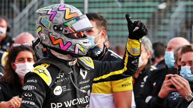 Daniel Ricciardo - Renault - GP Emilia-Romagna 2020 - Imola - Rennen