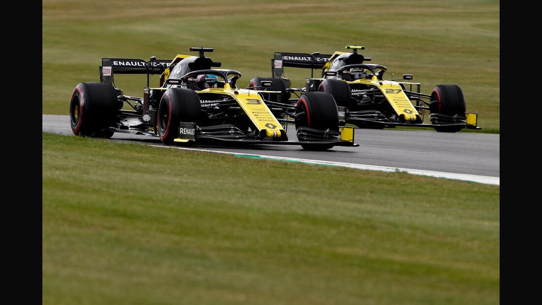 Daniel Ricciardo - Renault - GP England - Silverstone - Freitag - 12.7.2019