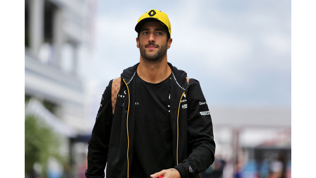 Daniel Ricciardo - Renault - GP Russland - Sotschi - Formel 1 - Donnerstag - 26.9.2019