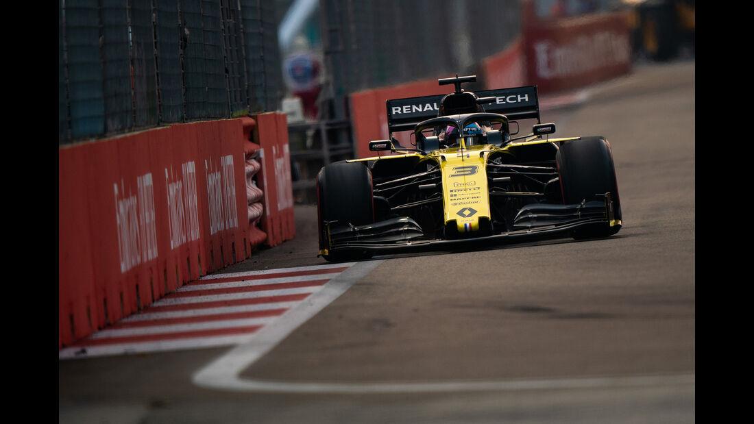 Daniel Ricciardo - Renault - GP Singapur 2019 - Qualifying