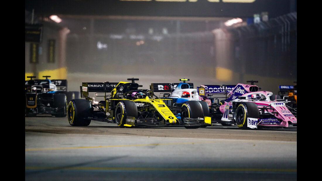 Daniel Ricciardo - Renault - GP Singapur 2019 - Rennen